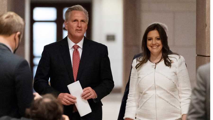 GOP Chair Elise Stefanik: Justice Department Is 'Trying to Block' Maricopa County Audit