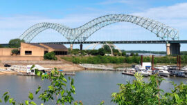 Mississippi River Traffic Resumes Under Damaged Bridge