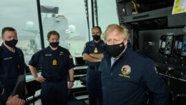 UK Carrier's Indo-Pacific Voyage Aimed at Showing China Law of the Sea: Johnson