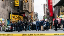 Three People, Including a 4-Year-Old Girl, Shot in Times Square