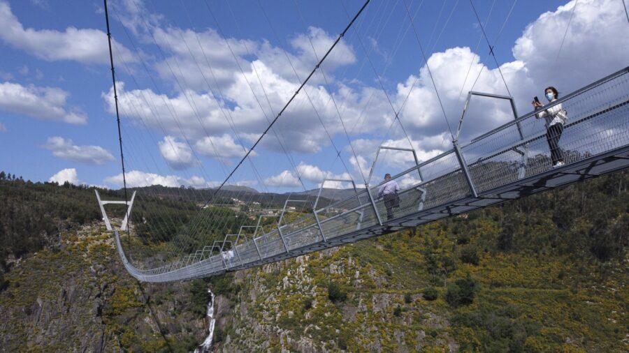 High Jinx: New Portuguese Bridge Not for the Faint-Hearted