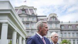 GOP Leaders Tell Biden Tax Hike Is 'Red Line'