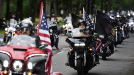 LIVE: 'Rolling to Remember' Motorcycle Rally Rides Through Washington DC