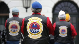Annual Motorcyle Ride 'Rolling to Remember' in DC