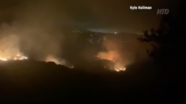 2 Arson Suspects Detained in Los Angeles Wildfire