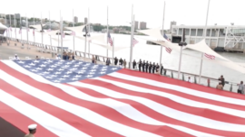 Memorial Day Ceremony Held at Intrepid Museum