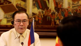 Philippines Foreign Minister Issues Expletive-Laced Tweet Over China Sea Dispute