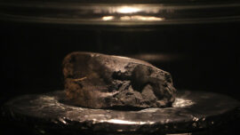 4.5-Billion-Year-Old Meteorite on Display