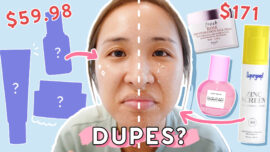 We Found Affordable Dupes for Fresh, Glow Recipe, Supergoop & More!