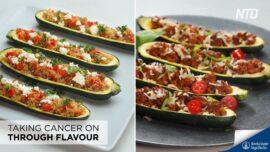 Stuffed Zucchini Boats 2 Ways