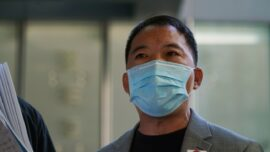 Ex-Hong Kong Lawmaker, Held Under Security Law, Gets Bail for Father's Funeral