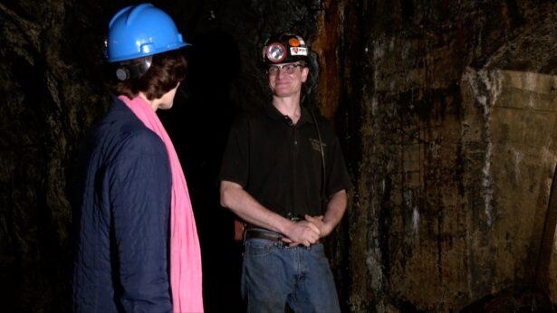 tour of the No. 9 Coal Mine