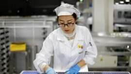 Biden's Solar Ambitions Collide With China Forced Labor Complaints
