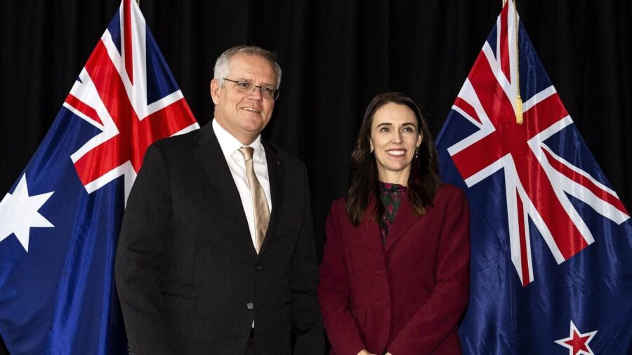 Australia-NZ Present United Front on China, Warning Against 'Those Who Seek to Divide Us'