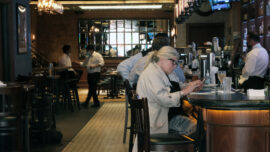 Indoor Bar Seating Resumes in New York