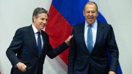 US, Russian Diplomats Break the Ice