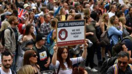 Thousands March in London Against Lockdowns