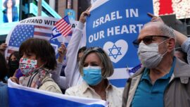 Pro-Israel Rally at Times Square