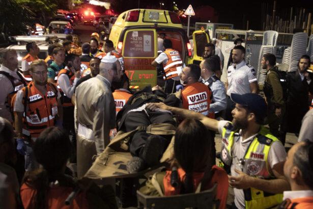 Israel Bleacher Collapse