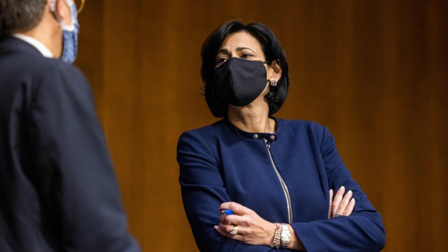 CDC Director Says Change on Mask Guidelines Not Due to Political Pressure