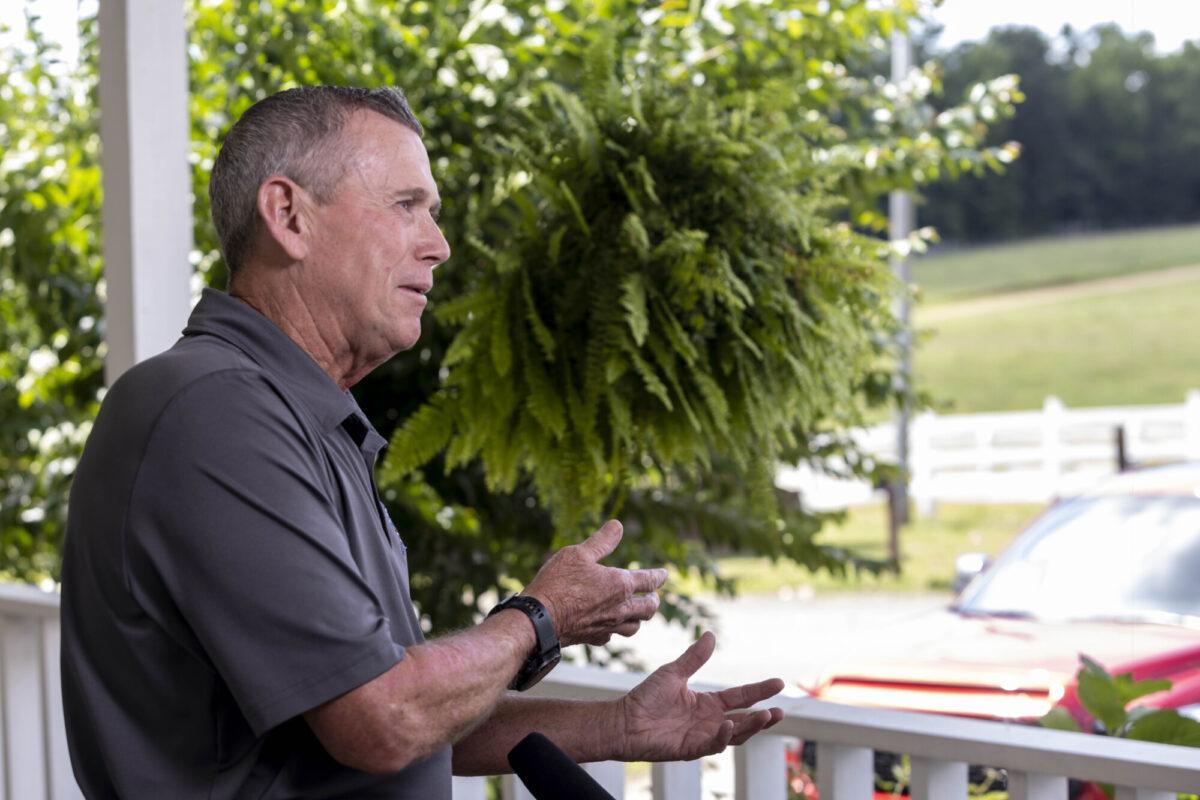 Alabama Sheriff's Girls Ranch CEO Michael Smith