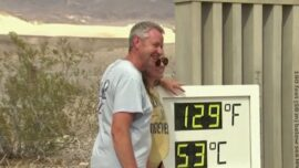 Death Valley Hits 129 Degrees Fahrenheit