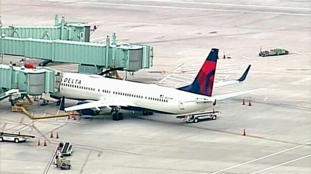 Delta airline emergency
