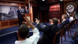 Democrats Meet to Discuss Advancing Infrastructure Bill