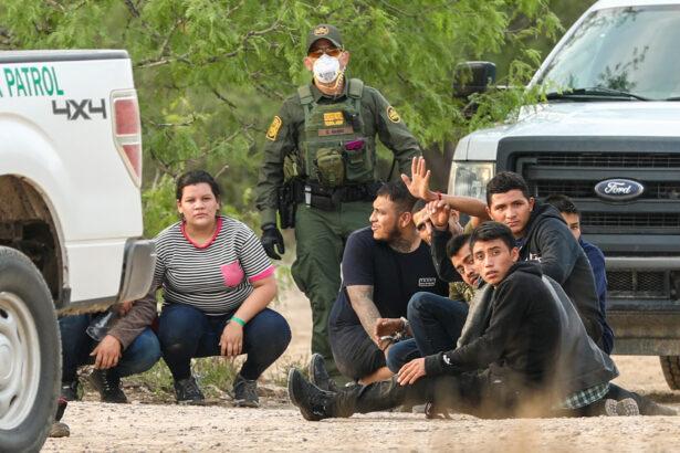 Border Patrol apprehends illegal immigrants