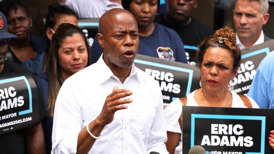 Man Volunteering for NYC Mayoral Candidate Eric Adams Stabbed