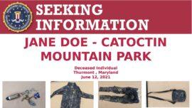 FBI Asking Public's Help Identifying Body Found on Hiking Trail
