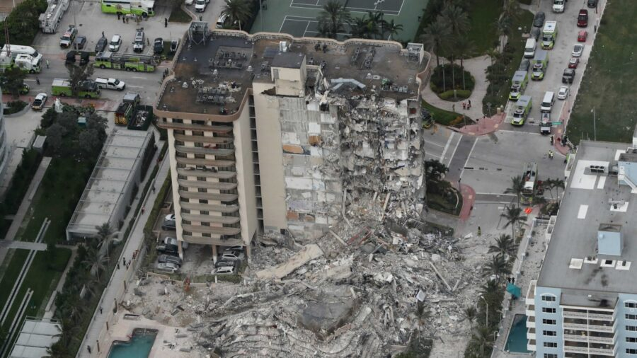 After Florida Building Collapses, 51 Residents Unaccounted For, Official Says