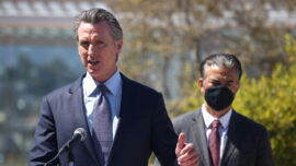 Judge to Rule on Newsom's Ballot ID Lawsuit Against Secretary of State