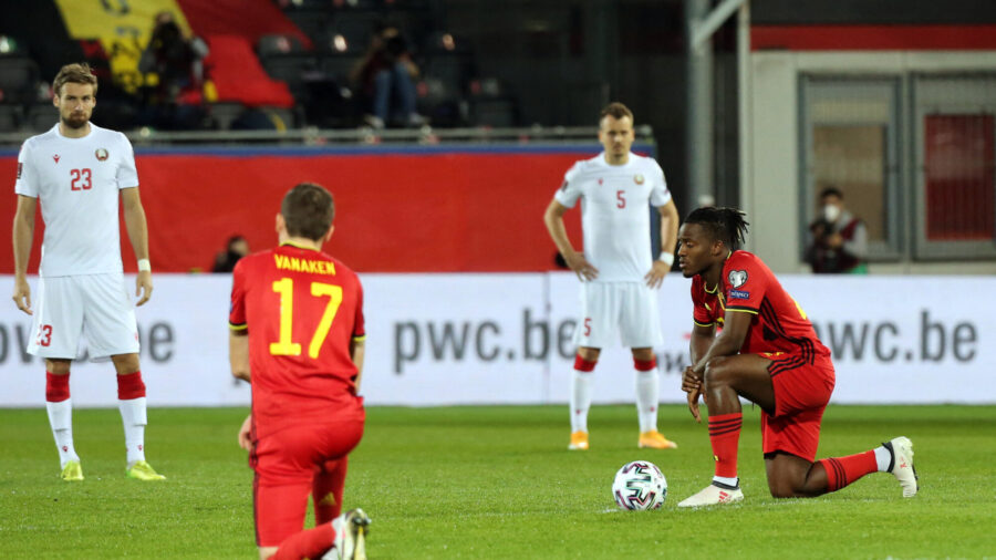 Euro Soccer Teams Divided Over BLM