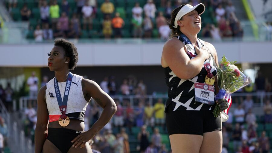 Veteran GOP Lawmakers Call for Gwen Berry's Removal From US Olympic Team Over Anthem Protest