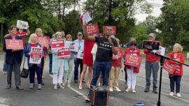 Large Parent Protest Over Transgender Policy