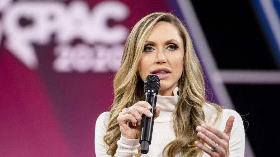 Lara Trump Repudiates Claim That Her Father-in-Law Will Be Reinstated by August