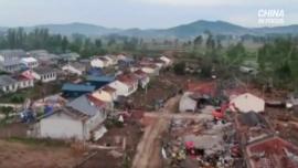 Tornado Hits Northeast China, Kills One