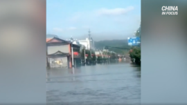 Water Levels Exceed Warning Level in Northeast China