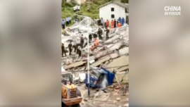 7-Story Residential Building Collapses in China