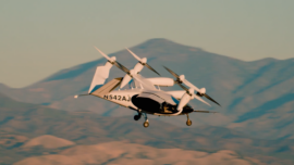 California Company Produces Air Taxi Electric Helicopter