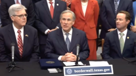 LIVE: Texas Gov. Abbott Holds Press Conference on Border Wall