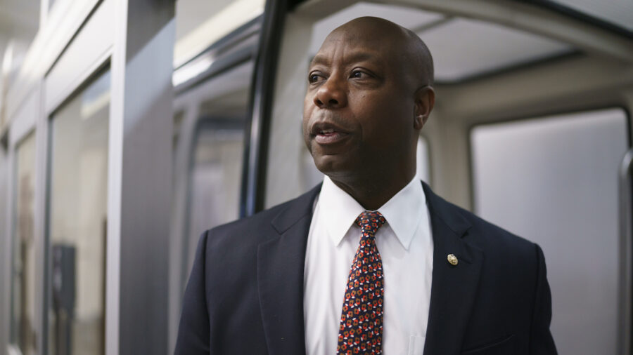 Tim Scott: Police Reform Talks Collapsed Because Democrats Want to Defund Police