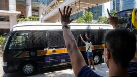 Man Charged Under Hong Kong Security Law Says Not Guilty