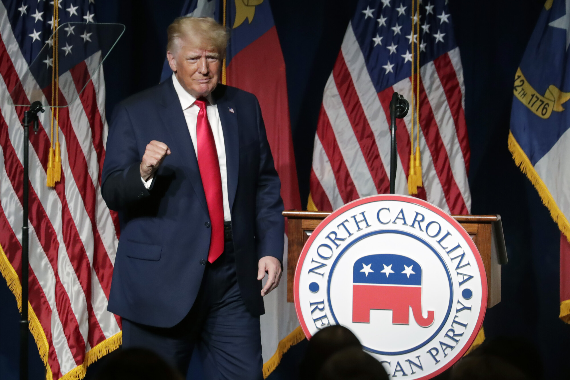 Trump at NC GOP convention.