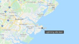 Tybee Island Lightning Strike Kills 15-Year-Old Swimmer