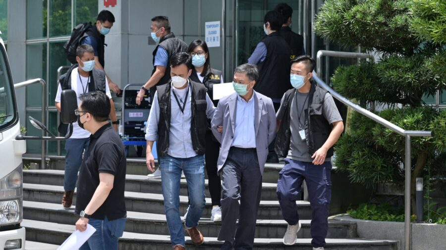 Hong Kong's Press Freedom in Question After Police Raid Newsroom Critical of Beijing