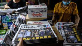 Human Rights Advocate on Hong Kong Apple Daily Raid