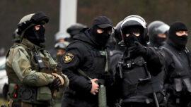 Belarusian Prisoner Stabs Own Throat in Court