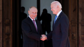Biden: Russia Being Squeezed by China